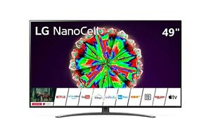 "Televisore TV LG NanoCell 49"" 49NANO813NA SMART LED UHD 4K HDR Piede Centrale"