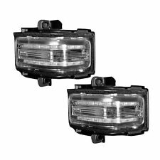 RECON 264245AMCL Ford 17-18 F250 F350 F450 Clear Lens - Amber LED Mirror Light