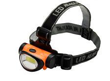 200 Lumen 3 Watt Energy Efficient Super Bright COB LED Headlamp Flood Light ORG