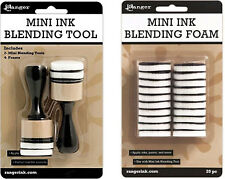 Ranger - Mini Ink Blending Tool-1 Round With Replacement Foams