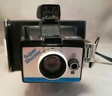 Vintage Polaroid Land Camera Super Shooter Wrist Strap Untested
