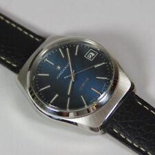 RARE Vintage Junghans Astro Quartz Men's Watch, cal. 667.20, Blue Dial, RUNS
