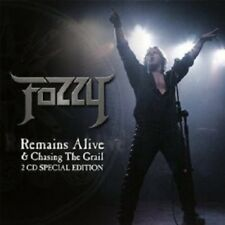 """FOZZY """"CHASING THE GRAIL & REMAINS ALIVE"""" 2 CD NEUWARE"""
