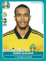 Panini Euro EM 2020 Preview Sticker Schweden SWE 26 Robin Quaison