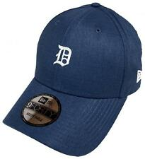 NEW Era Detroit Tigers Linen Small Logo 9 Forty Strapback Cap Adjustable 940