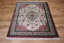 Feiner Perser Teppich Persien Seide auf Seide Gh-om 140 x 104 Wunderschön Top