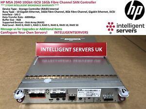 HP MSA 2040 10Gbit iSCSI 16Gb Fibre Channel SAN Controller - C8R09A
