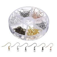 120pcs Ohrring Haken selber machen Ohrhaken Rohlinge Ohrringhaken für