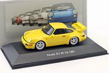 Porsche 911 (964) Rs 3.8 Año Fabricación 1992 Amarillo 1:43 Atlas
