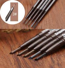 Long Lasting Waterproof Eye Brow Eyeliner Eyebrow Pen Pencil With Brush 3# HP87