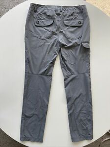 Womens REI Outdoor Hiking Pants Nylon Spandex Gray Soft!! VGUC!! Size 12