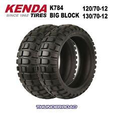 KENDA K784 Big Block Tyres Pair Honda MSX 125 Grom All Years 1207012 1307012