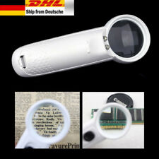 15X Lupe Portable Pocket Vergrößerungswerkzeug mit LED-Licht