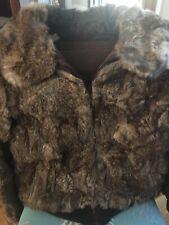 Mademoiselle Authentic Rabbit Fur Coat Vintage