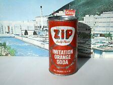 ZIP IMITATION ORANGE SODA FLAT TOP CAN