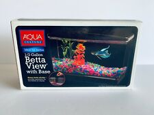 Aqua Culture 0.5-Gallon Fish Tank - Betta View with Base