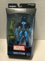 Hasbro Marvel Legends Series Rock Python 6-inch Collectible Action Figure