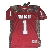 Western Kentucky WKU Hilltoppers Mens Large Football Jersey Realtree Camo