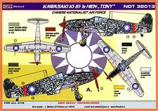 "KORA Decals 1/32 KAWASAKI Ki-61-1b HIEN ""TONY"" Chinese Nationalist Air Force"