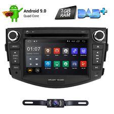 Android 9.0 Car DVD Player GPS Navi Wifi Radio Stereo For Toyota RAV4 2006-2012