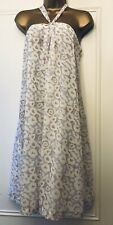 Gap Tunic Dress Uk 14 Worn Once Halter Neck Tie Uk 14 Floaty Chiffon Lined