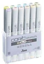 Copic Sketch Marker Penne - 12 Set-ex-4 Extension 4-ARTE GRAFICA Marcatori