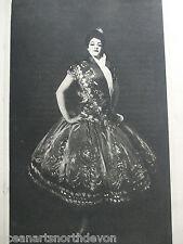 ANTIQUE PRINT 1901 CARMENCITA BY J S SARGENT VINTAGE ART PRINT FAMOUS ARTISTS
