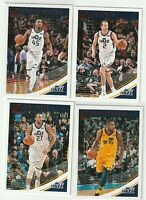 2018-19 DONRUSS Donovan Mitchell Joe Ingles Rudy Gobert Derrick Favors Utah Jazz
