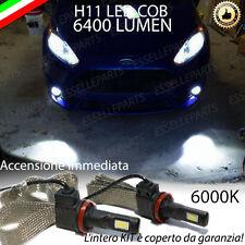 KIT FULL LED FORD FIESTA MK7 LAMPADE H11 FENDINEBBIA CANBUS 6400 LUMEN 6000K
