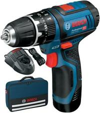 Compact 10.8V Li-Ion Combi Drill 1.5Ah Li-Ion Battery and Soft Case BOSCH