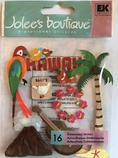 "Jolee's Boutique ""Hawaii"" Dimensional Stickers"