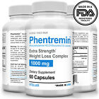 Phentremin® 1000mg Extra Strength Weight Loss 37.5 Appetite Suppressant