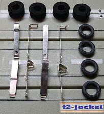 PARA COCHE SLOT RACING Maqueta de tren 8 lijadora+8 Neumáticos para G-Plus / AFX
