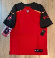 Tampa Bay Buccaneers Bucs Nike OnField NFL Sewn Elite Football Jersey Blank 44