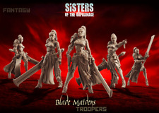Raging Heroes Sisters of the Orphanage - Blade Maidens - Troops