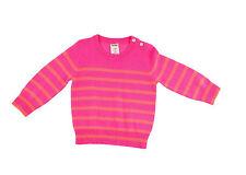 J Crew Crewcuts Baby Cashmere Sweater in Sailor Stripe 6-9 M 37726 Pink $145