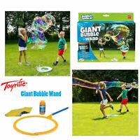 Toyrific Bubble Bonkaz Summer Outdoor Garden Fun Giant 1 Collapsible Bubble Wand