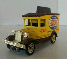 GOLDEN WHEEL PEPSI COLA DELIVERY TRUCK DIECAST 1:64 YELLOW/BROWN