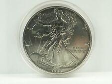 *** eeuu 1 dólares moneda 1990 american silver eagle 1 Oz plata 1 onza coin ***