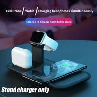 3 In 1 Fast Wireless Charger Dock Station Fast Charging For Apple 2 USB T5C2