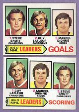 1977-78 OPC O-PEE-CHEE 1976-77 NHL Leader Set