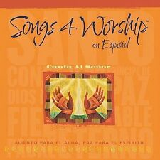 NEW Songs 4 Worship en Español - Canta Al Señor (Audio CD)