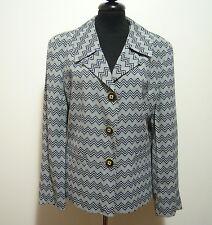 CULT VINTAGE '80 Giacca Donna Viscosa Woman Rayon Jacket Sz.M - 44