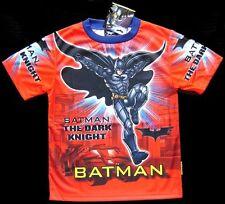TRES JOLI TEE-SHIRT BATMAN 3-4 ans (XS) BONNE QUALITE imprimé des 2 cotés