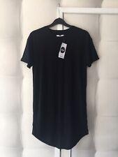 Topman Black Longline T shirt XS BNWT