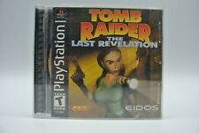 Tomb Raider: The Last Revelation (PS1 Sony Playstation) Original Case and Manual