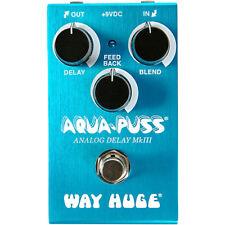 Way Huge Electronics WM71 Mini Aqua-Puss Analog Delay Guitar Effects Pedal - New