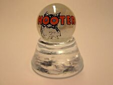HOOTERS RESTAURANT LOGO COLLECTOR MARBLE
