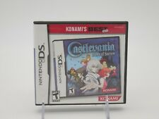 CASTLEVANIA: DAWN OF SORROW (for Nintendo DS, 2005) Complete with Manual Tested!
