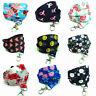 Flowers Floral Lanyard neck strap KEYS ID Card Badge Holder Spirius safety click